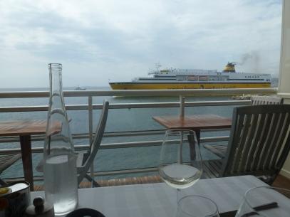 boarding time for Corsica at la Reserve