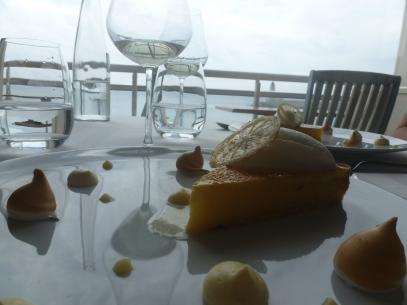 lemon pie at la Reserve