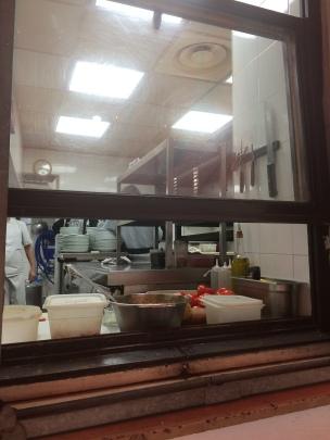 open kitchen Gesu