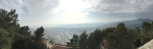 panoramic view 2 from the Observatory