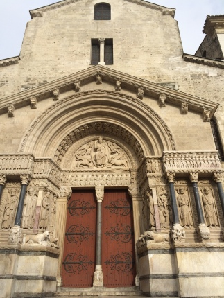 Sainte Trophime church portal