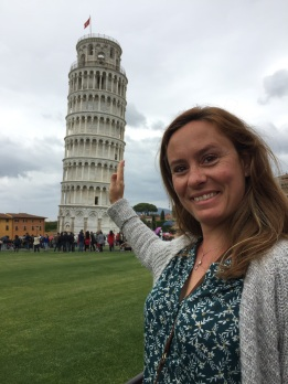 Elsa in Pisa