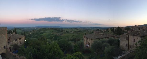 San Giminiano view
