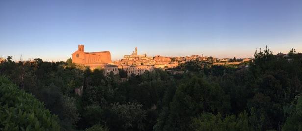 View at Siena
